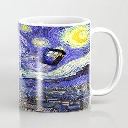 TARDIS STARRY NIGHT Coffee Mug