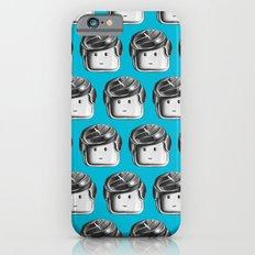 Minifigure Pattern – Blue Slim Case iPhone 6s