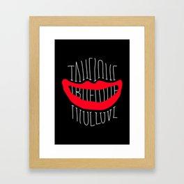 Love 4 Framed Art Print