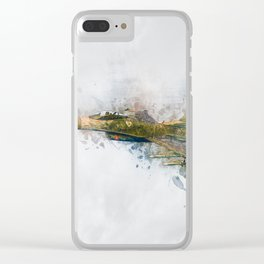 F16 Fighting Falcon Clear iPhone Case