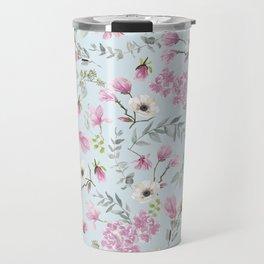 Romantic Pink patern Travel Mug