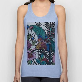 """Bird of Paradise"" by Margaret Preston Unisex Tank Top"