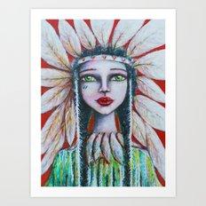 Peace Bringer  Art Print