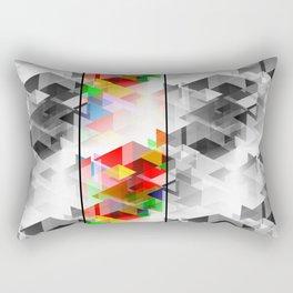 Patchwork Metamorphosis Rectangular Pillow