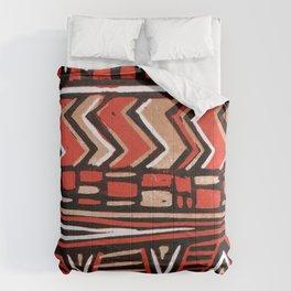 Aztec lino print Comforters