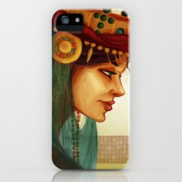 Sibylla, Queen of Jerusalem iPhone Case