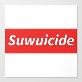 Suwuicide 1 Canvas Print