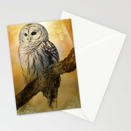 Bathed in light Stationery Cards