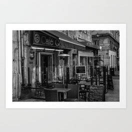 Cafe Brasserie, Nice, France Art Print