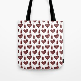 Wine Lover Pattern Tote Bag