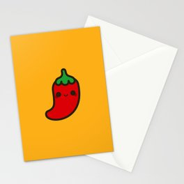 Cute chilli Stationery Cards