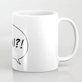 NANI?! Coffee Mug