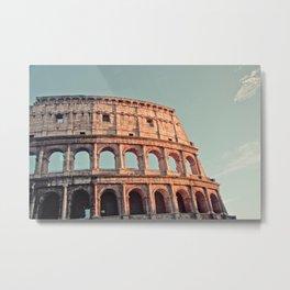 Rome Colosseum Metal Print