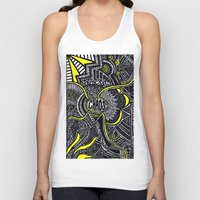 chaos Tank Tops featuring Chaos by Lauren Moore