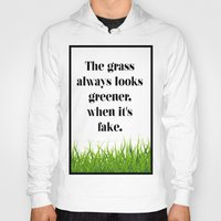 grass Hoodies featuring GRASS by C O R N E L L