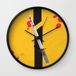 KILL BILL Tribute Wall Clock