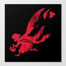 Little Red Hood Canvas Print