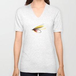 Fly-yellow Unisex V-Neck