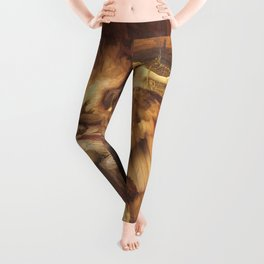 The Lament For Icarus By Herbert James Draper Leggings