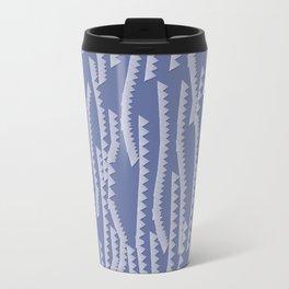 Paper Waves Travel Mug