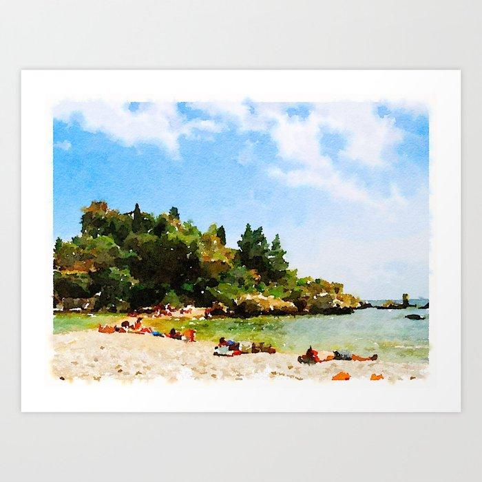 Sicilian Paradise Art Print