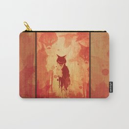 Glimpse Of A Fox In The Forest Carry-All Pouch
