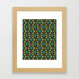 Symbolic Camomiles Framed Art Print