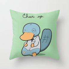 Cheer Up! Throw Pillow