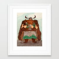 how to train your dragon Framed Art Prints featuring How to Train Your Dragon by Jennifer Chan
