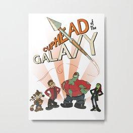 CUPHEAD of the GALAXY Metal Print