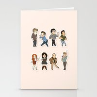 kendrawcandraw Stationery Cards featuring Dance by kendrawcandraw