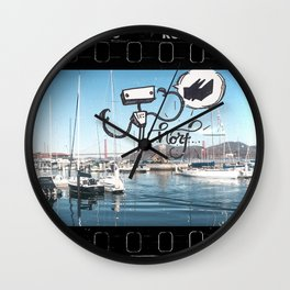 KING of the NORF Wall Clock