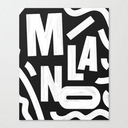 Milano Routes Canvas Print