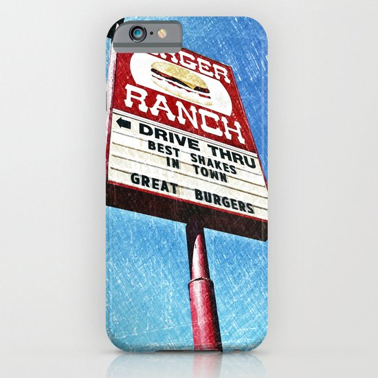 The Burger Ranch iPhone & iPod Case