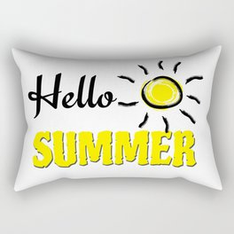 Hello summer Rectangular Pillow