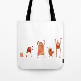 Monster Dance Party Tote Bag