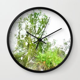 Where the sea sings to the trees - 2 Wall Clock