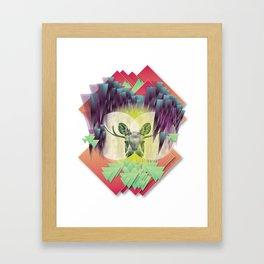 Neon Ritual Framed Art Print
