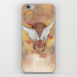 What If... Rats had wings? iPhone Skin