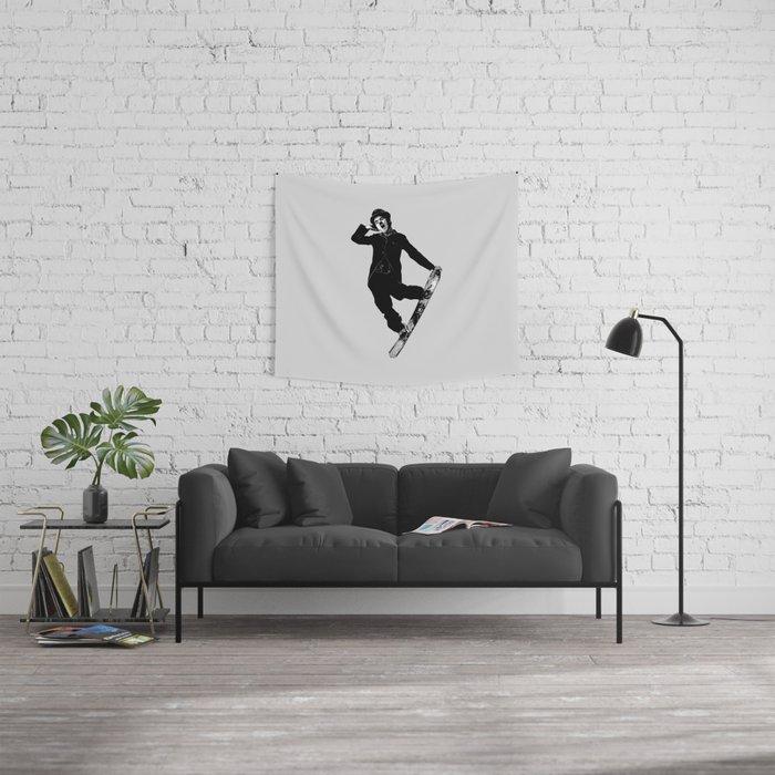 Gnarly Chaplin Wall Tapestry