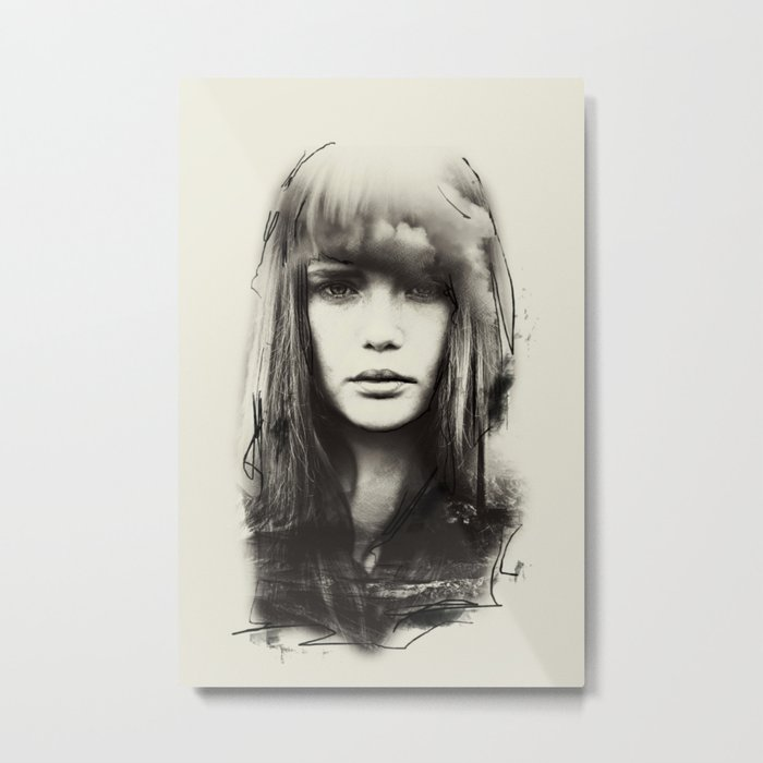 PORTRAIT 2 Metal Print