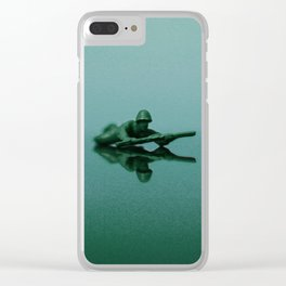 Mirror of Confusion Clear iPhone Case