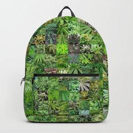 Marijuana Leaves Montage Backpack