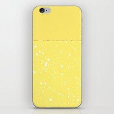 XVI - Yellow iPhone & iPod Skin