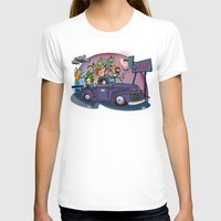 van T-shirts featuring Van by manuvila