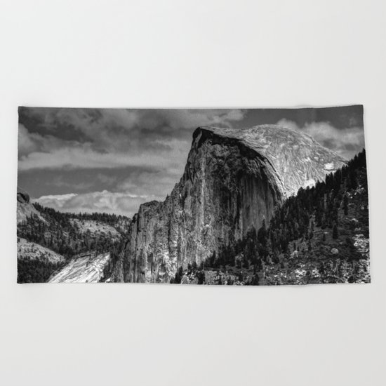 Half Dome Chrome Beach Towel