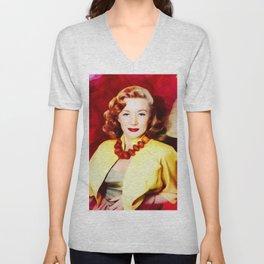 Gloria Grahame, Vintage Actress Unisex V-Neck