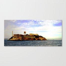 alcatraz island 1 Canvas Print