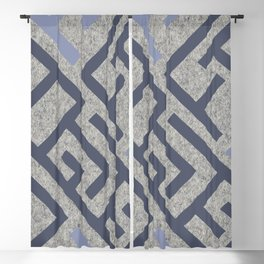 African Tribal Pattern No. 127 Blackout Curtain