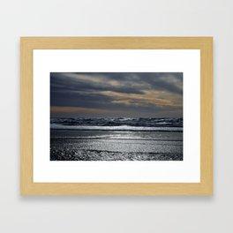 El Segundo Beach Sunset Framed Art Print